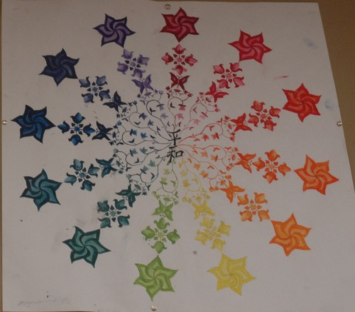 Creative Colour Wheel Project
